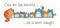 Cats and Biscuits - Peter Underhill