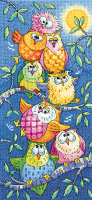 Tottering Tower Owls - Heritage Crafts