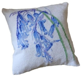 Bluebells Herb Pillow Tapestry