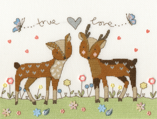 Love You Deerly - Bothy Threads Cross Stitch