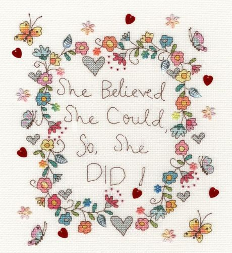 Love Note - Bothy Threads Cross Stitch