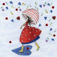 Flower Rain - Mila Marquis Cross Stitch