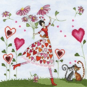 Miss Heart - Mila Marquis Cross Stitch