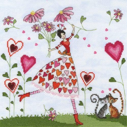 Miss Heart - Mila Marquis Cross Stitch