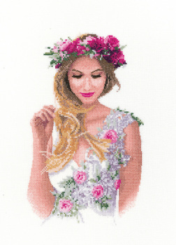 Emily - John Clayton  Elegance Cross Stitch