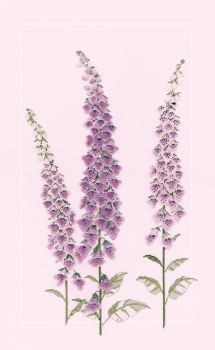 Foxgloves Cross Stitch