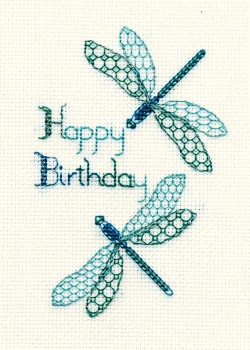 Dragonfly - Birthday Card Kit