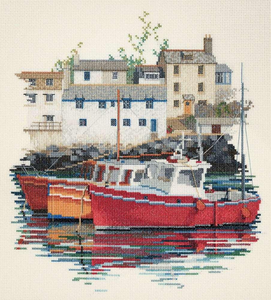 Fishing Village Cross Stitch
