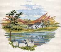 Lakeside Farm Cross Stitch