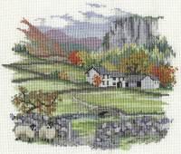 Cragside Farm Cross Stitch