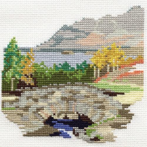 Ashness Bridge - Lake District Cross Stitch