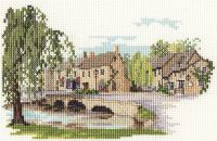 Bourton-on-the-Water - Cotswolds Cross Stitch