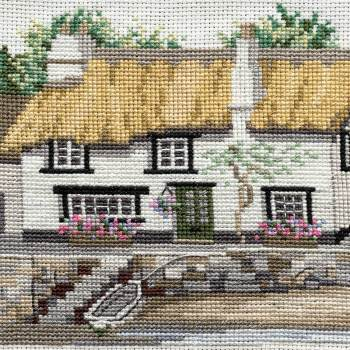 Cornish Cottage Cross Stitch