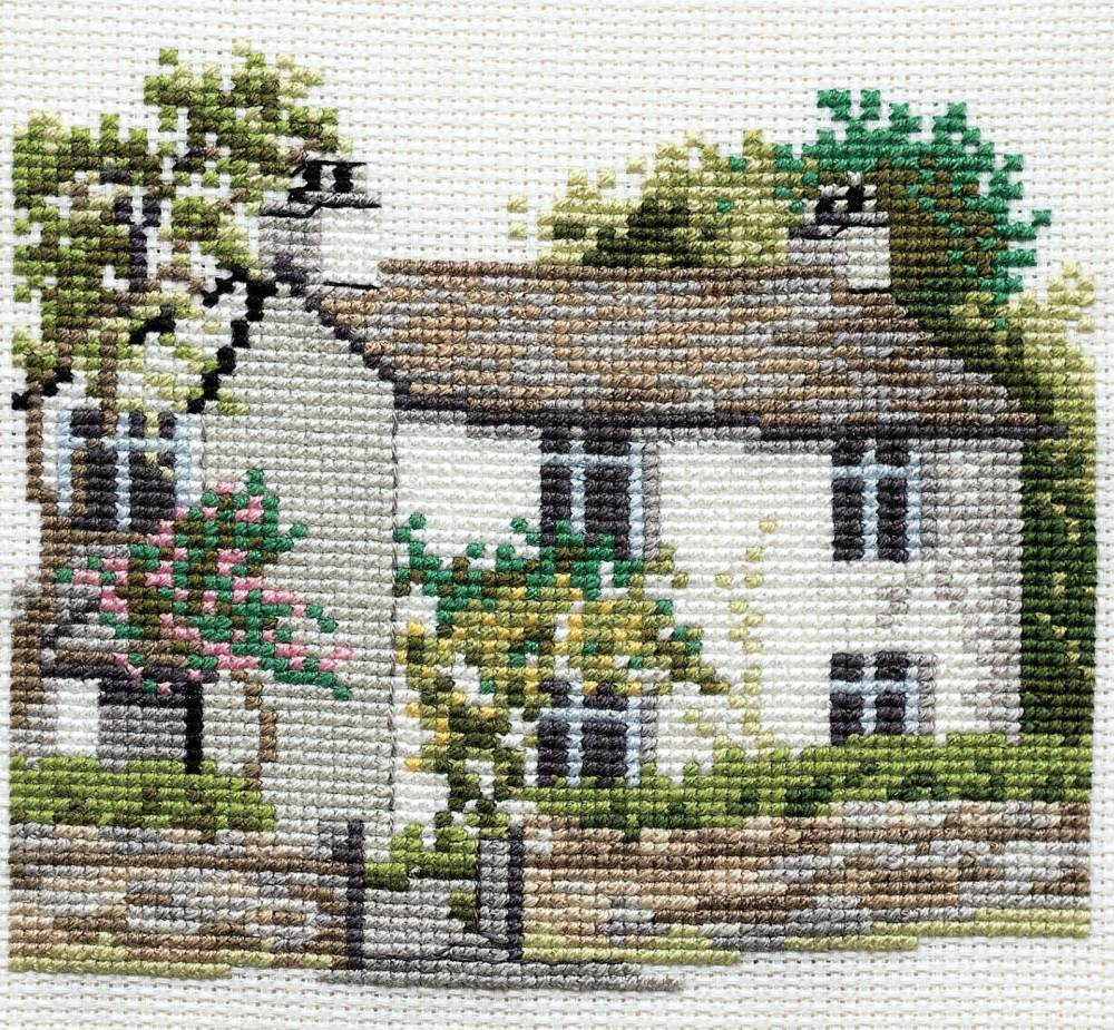 Dove Cottage - Lake District Cross Stitch