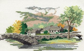 Grange-in-Borrowdale - Lake District Cross Stitch