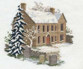 Bronte Parsonage - Haworth Cross Stitch