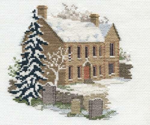 Bronte Parsonage - Haworth Cross Stitch