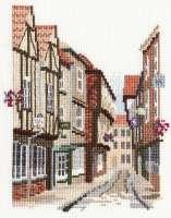 The Shambles - York District Cross Stitch