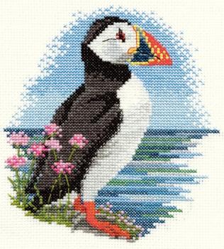Puffin Cross Stitch