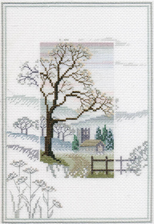 Winter Tree - Misty Mornings Cross Stitch