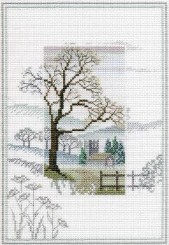 Winter Tree - Misty Mornings Cross Stitch