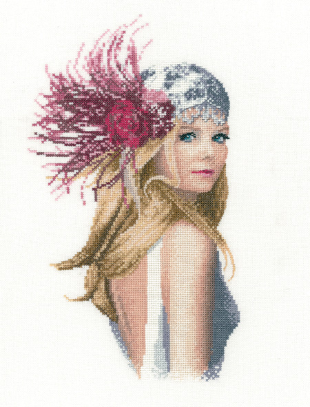 Fleur - John Clayton  Elegance Cross Stitch - Heritage Crafts