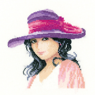 Jessica - John Clayton Miniature Elegance Cross Stitch Kit