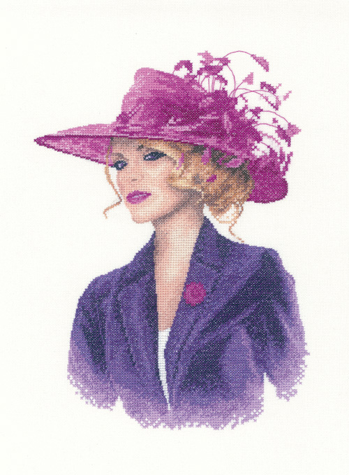Sarah - John Clayton  Elegance Cross Stitch
