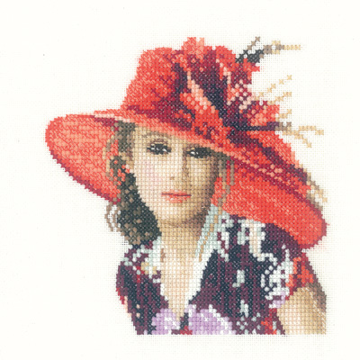 Victoria - John Clayton Miniature Elegance Cross Stitch
