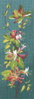Honeysuckle Floral Panel - John Clayton