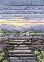 Spring Evening - Wool Long Stitch