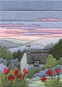 Summer Evening - Wool Long Stitch