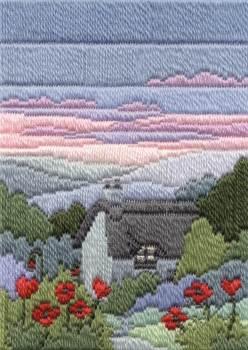 Summer Evening - Wool Long Stitch