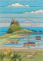 Coastal Spring - Wool Long Stitch