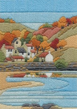 Coastal Autumn - Wool Long Stitch
