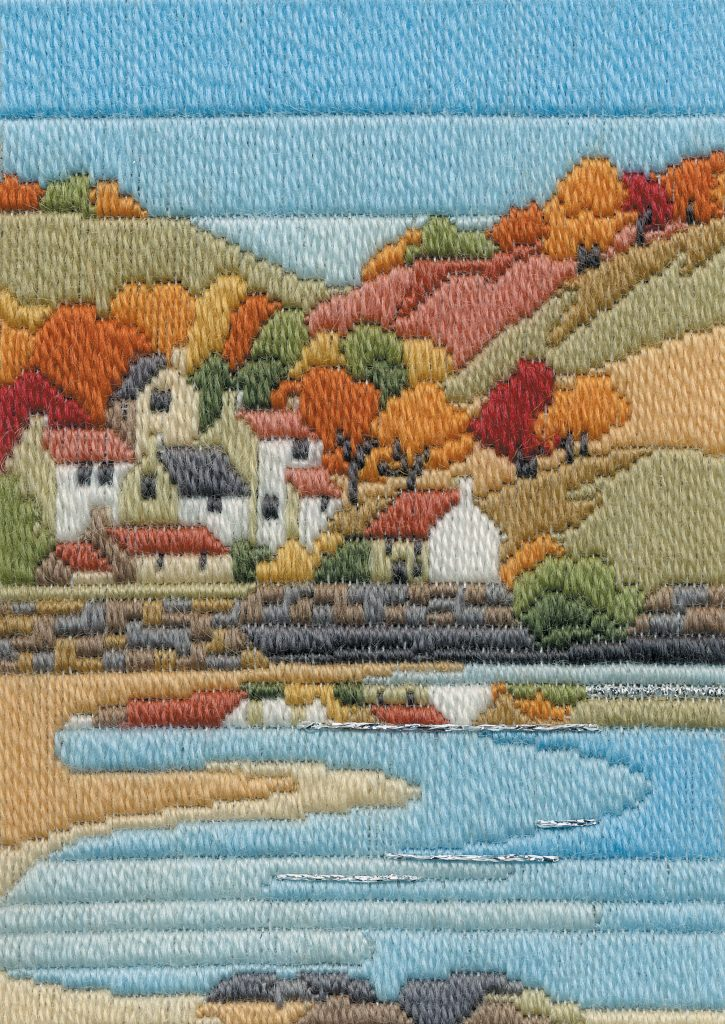 Coastal Autumn - Wool Long Stitch