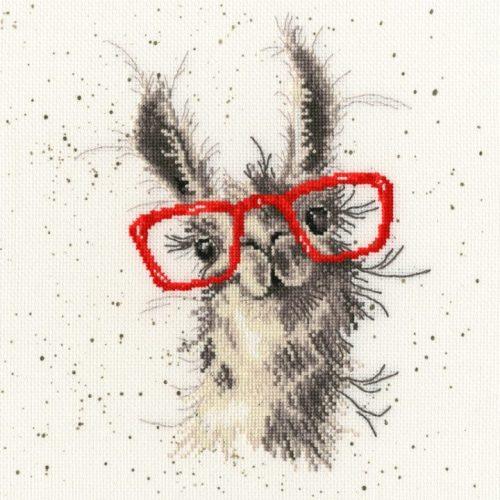 No Cause For A-Llama - Hannah Dale Cross Stitch Kit
