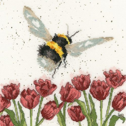Flight of the Bumblebee Cross Stitch - Hannah Dale (Bothy Threads)