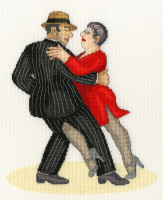 It Takes Two To Tango - Beryl Cook Cross Stitch