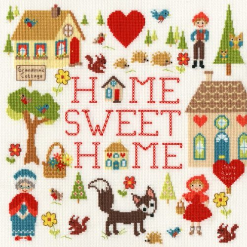 Home Is Where The Heart Is Cross Stitch Kit - Michelle Grace (Bothy Threads