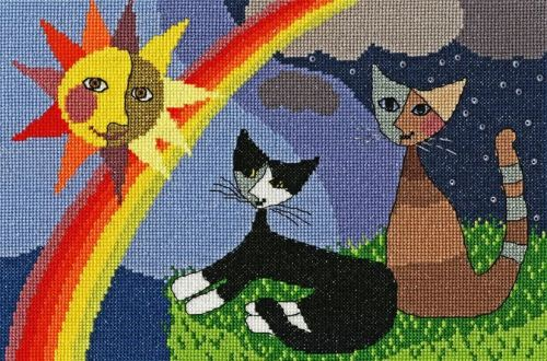 After The Storm - Rosina Wachtmeister Cross Stitch