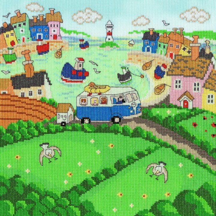 Summer Cove Cross Stitch - Paul Liggins (Bothy Threads).