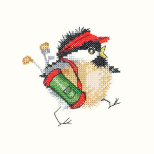 Golfing Chick - Valerie Pfeiffer Cross Stitch