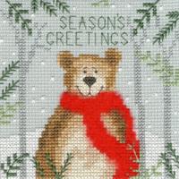Christmas Bear Christmas Card