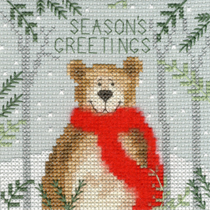 Christmas Bear Christmas Card