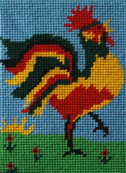 Rex Rooster Beginners Tapestry