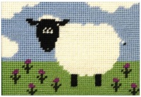 Shirley Sheep Beginners Tapestry