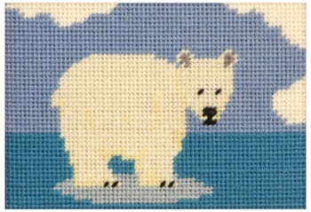 Paula Polar Bear Beginners Tapestry
