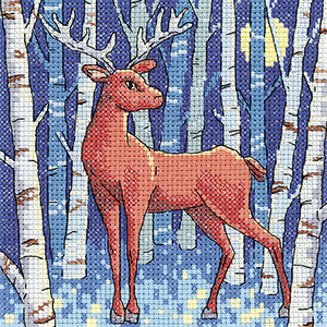 Stag Cross Stitch - Heritage Crafts