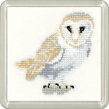 Barn Owl Coaster Kit - Heritage Crafts